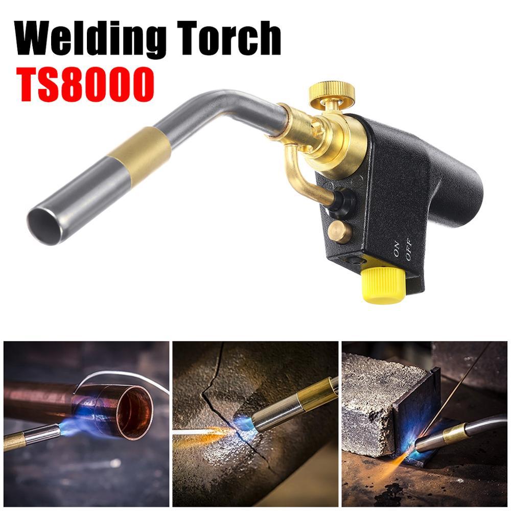TS8000 Bernzomatic Style Blow Torch Kit Brazing Soldering Mapp Gas Map Propane