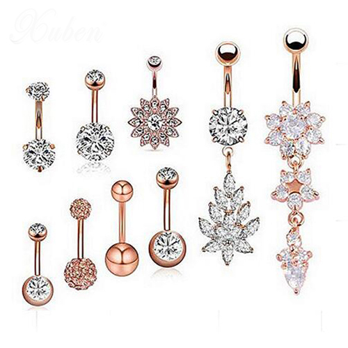 9 Pcs/set Steel Belly...