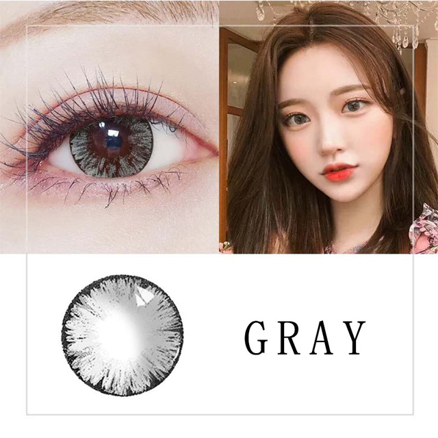 Beautiful Pupil Color Contact Lenses Monthly Throw Female Path 14.5mm Cute Multicolor Party Gift Cartoon Girl Decoration Cosplay 5