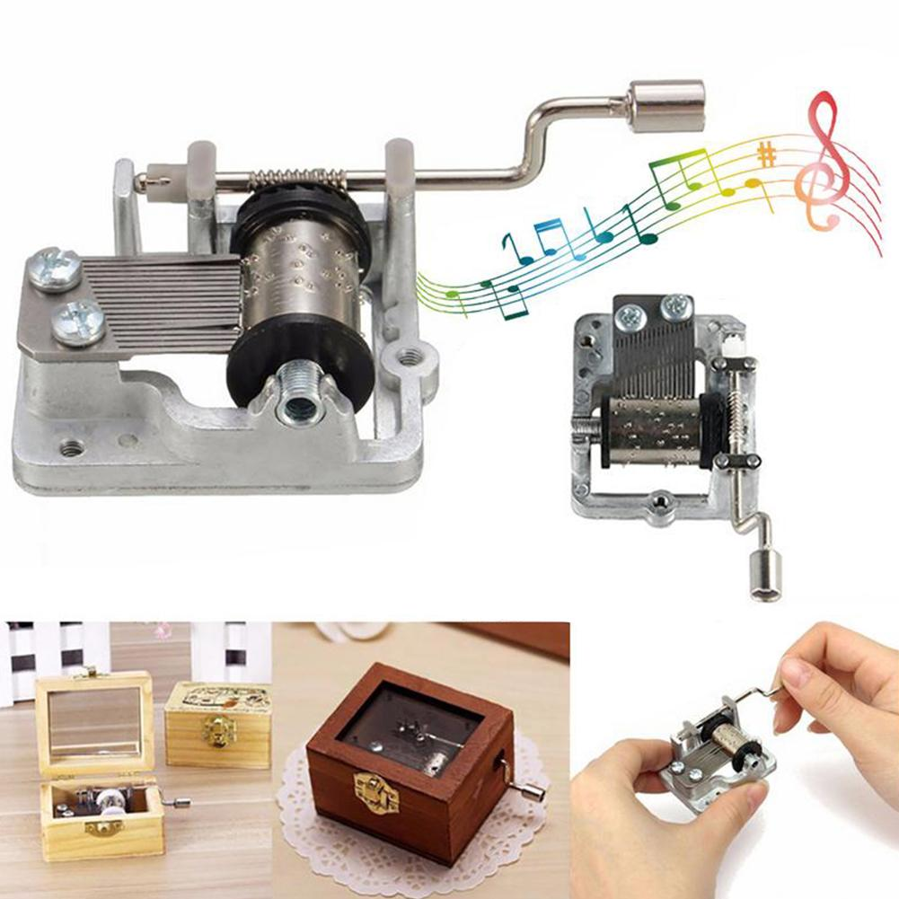 Mini Hand Cranking Music Movement DIY Music Box Accessories Decorative Collectibles Sailor Moon A Variety Of Music Available