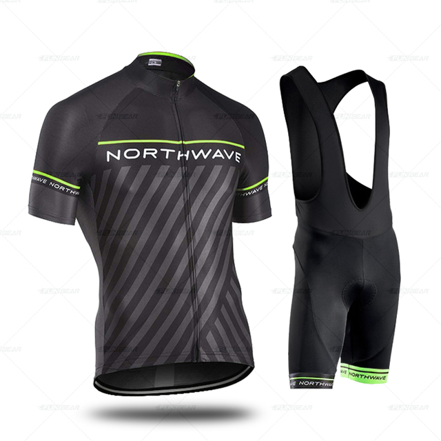 Pro Cycling Jersey Set Mens...