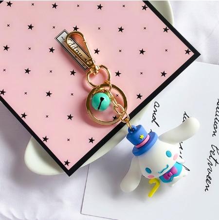 Kawaii Cinnamoroll Keychain Cute Keyring