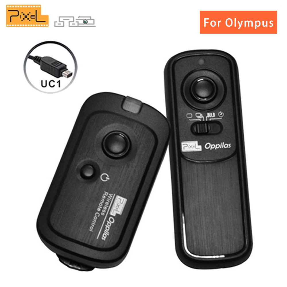 for Olympus DSLR E1 E3 E5 E10 E20 E20N E100RS C2500L Pixel RC-201 Remote Shutter Release Control compatible with OLYMPUS RM-CB1