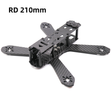 цена на TCMMRC 210mm Drone Frame RD210 Thickness 4mm Arm Carbon Fiber for FPV Racing Drone Quadcopter