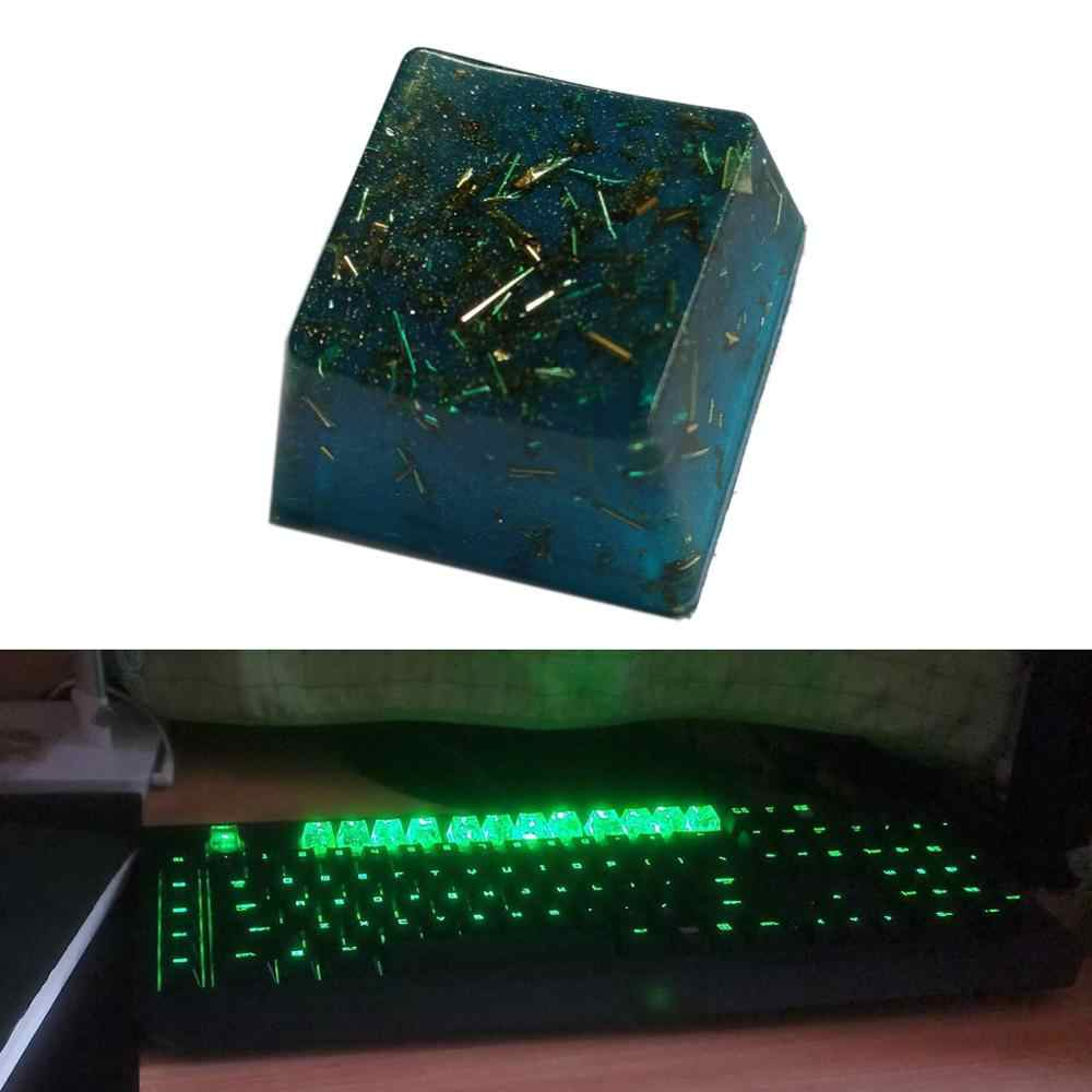 Personalized Keycap Resin Material MX Switch Mechanical Keyboard Keycap OEM Profile Hand Coloring