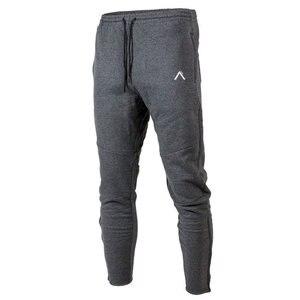 Cotton casual pants men joggers sweatpan