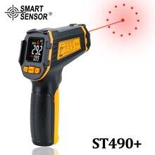 Цифровой инфракрасный термометр Бесконтактный лазерный ИК температура ЖК дисплей пистолет пирометр тестер аквариумные приборы температуры