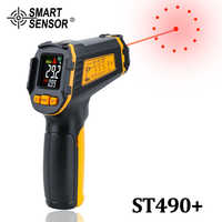 Digitale Infrarot Thermometer Nicht Kontakt Laser IR Temperatur LCD Display Gun Pyrometer Tester Aquarium Temperatur Instrumente