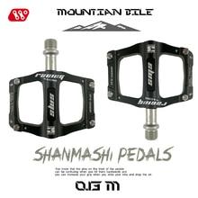 Bicycle Pedals Fixed-Gear Road-Bike MTB Wide-Racing-Pedal Ultralight Aluminum-Alloy 3-Bearings