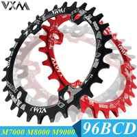 VXM Rotonda/Ovale 96BCD Corona MTB Mountain BCD 96 della bici della bicicletta 32T 34T 36T 38T guarnitura Dente piatto di Ricambio per M6000 M7000 M8000