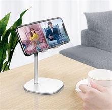 Suporte do telefone celular para o suporte do telefone liftable ajustável da altura do ângulo da mesa compatível com todos os telefones celulares, ipad do iphone