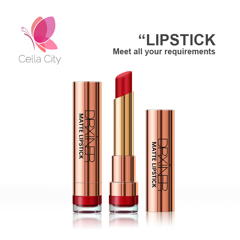 Cellacity Matte Lipstick Long lasting nude Lipsticks set waterproof Lip Stick Matte sexy Red Liquid Lipstick For woman makeup