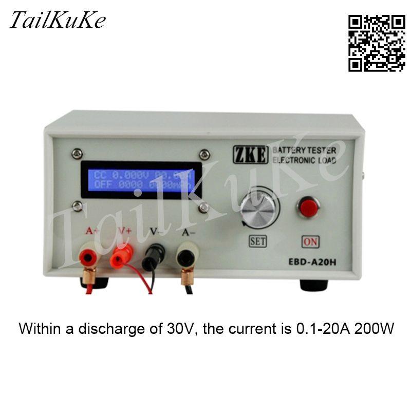 Электронная загрузка, тестер емкости батареи, тест на источник питания, модель разряда аккумулятора переменного тока
