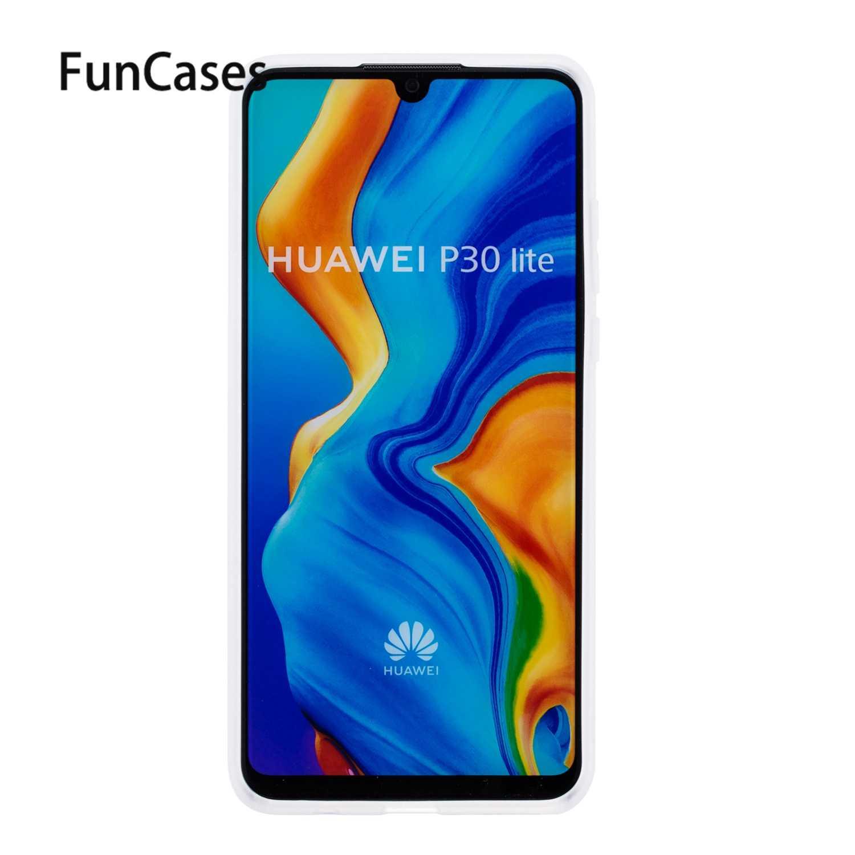 Hộp Đựng Điện Thoại Cho Bao Da Huawei P30 Pro Sfor Lưng Huawei P30 Plus Lite Y6 2018 Y5 P20 Pro Y7 Thủ 2019 Y9 Mềm Mại Ốp Lưng Silicon