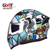 GXT Motorcycle protective helmets Capacete da Motocicleta Cascos Moto Casque Dou