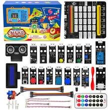 OSOYOO стволовых стартера графический комплект для программирования Би-би-си микро:бит с подключи и играй платы расширения начинающих детей