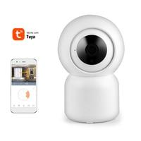 Tuya-cámara IP inteligente 1080P, HD, WiFi, Pan-Tilt con Zoom, Audio bidireccional, visión nocturna para el cuidado del bebé, Control inalámbrico por aplicación remota