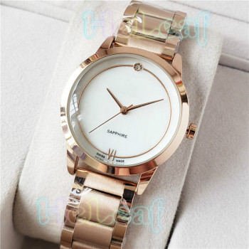 Fashion Silver Gold White Stainless Women Watch CH brand Quartz Wrist Watches Ladies Girls Female Clock Montre Femme reloj