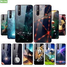 Phone Case For Xiaomi Redmi 5 6 7 6a 7a Luxury Tempered Glass Back Cover Case With Soft Silicone Edge For Redmi 6 7 6a 7a Shell luxury phone case for xiaomi redmi 7a tempered glass phone cover for redmi 7 6 6a xiaomi 9 9t for redmi note 8 8pro back cover