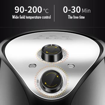 5.5L Multi-function Air Fryer 1500W Electric Deep Fryer High-speed Hot Air Circulation Cooker Oven Low Fat Health Pan AU Plug 4