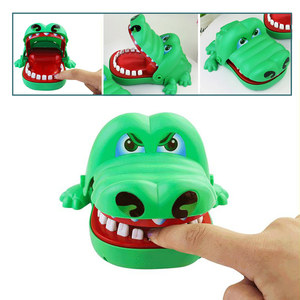 Funny Toy Mouth Dentist Bite Finger Toy Pulling Crocodile Teeth Games Toys Kids Funny Toy For Children Kids Biting Finger Game