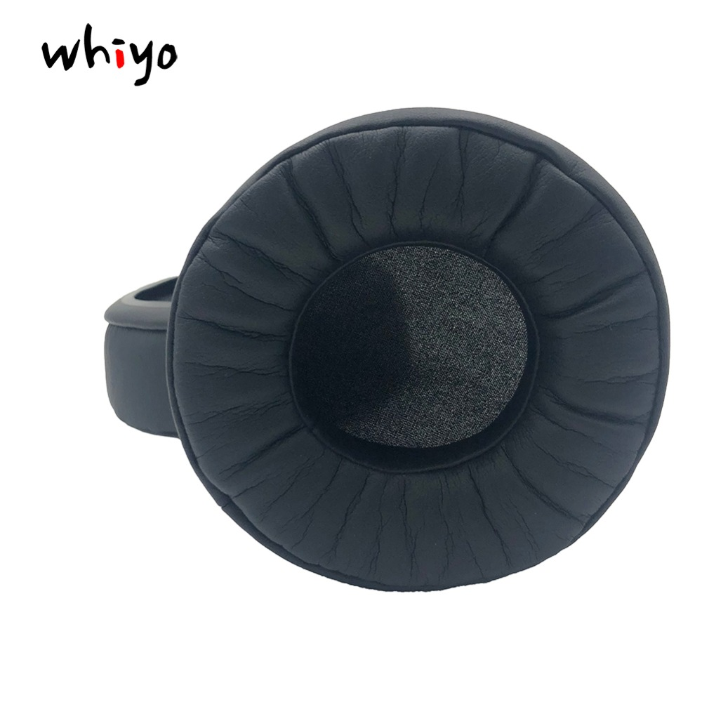 Memory Foam Protein Leather Replacement Earpads Pillow Ear Pads for Superlux <font><b>HD668B</b></font> HD681 HD681B HD662 Headphones Sleeve Headset image