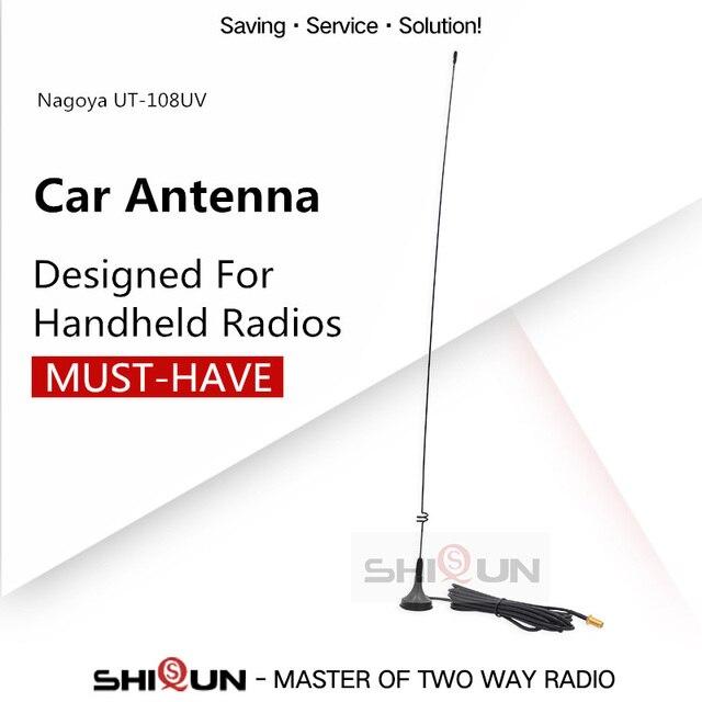 Baofeng Walkie Talkie Gain Antenne UT 108UV SMA F Dual Band Voor Draagbare Cb Radio Baofeng UV 9R UV 5R UV 5RE BF 888S UV5RE UV82
