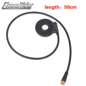 Image 5 - À prova dwaterproof água conector plug pas pedal assist sensor KT V12L 6 ímãs duplo salão sensores 12 sinais