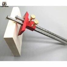 Herramientas de regla de marcado de doble línea de carpintería para carpinteros