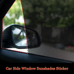 Car Side Window Sunshades Electrostatic Sticker Sunscreen Film Stickers For Honda KIA Hyundai LADA BMW Audi Nissan Peugeot etc.