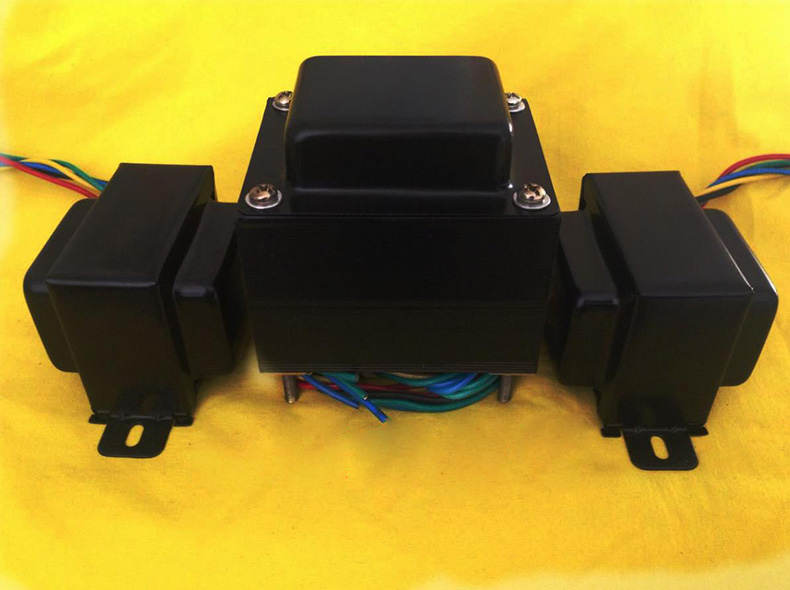 2 tube amplifier transformers 6P1 6P14 6V6 sets of cattle 105W power supply + 5W output cattle