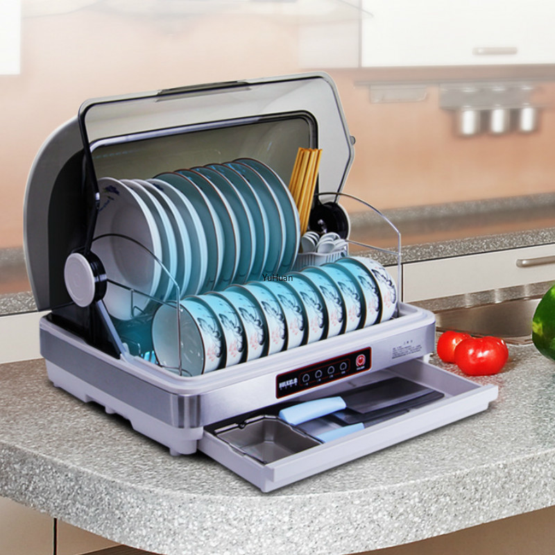 Household  Ultraviolet Light Kitchen Dish Disinfection  Drying Cabinet Desktop Disinfection Cabinet  Disinfection
