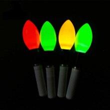2 шт./лот световая палка желтый/красный/оранжевый световая палка работает с CR322 светодиодный светящийся Поплавок Инструмент ночной поплавок для рыбной ловли аксессуар A278