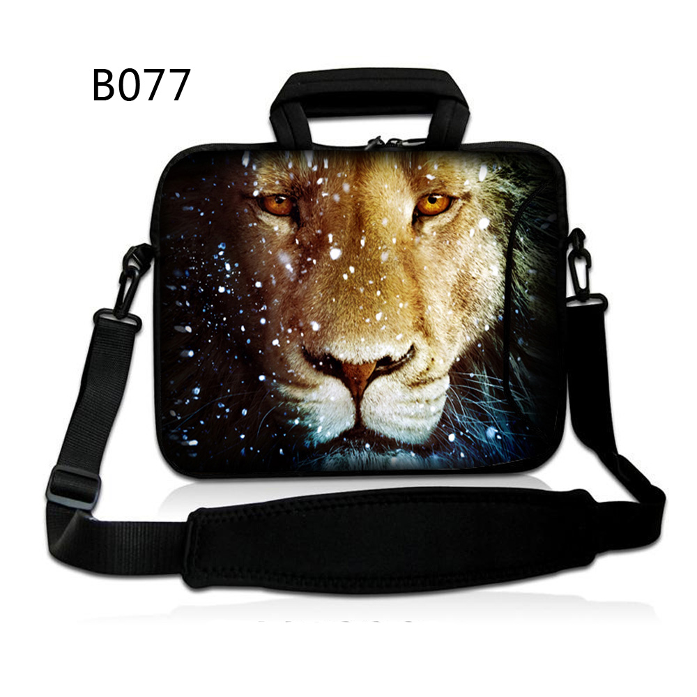 Lion Head 10 Laptop Shoulder Bag Case Sleeve Bag For iPad 4 3 2 1/ 10.1 Samsung Galaxy Tab/10.1 inch Acer Aspire Switch 10 image