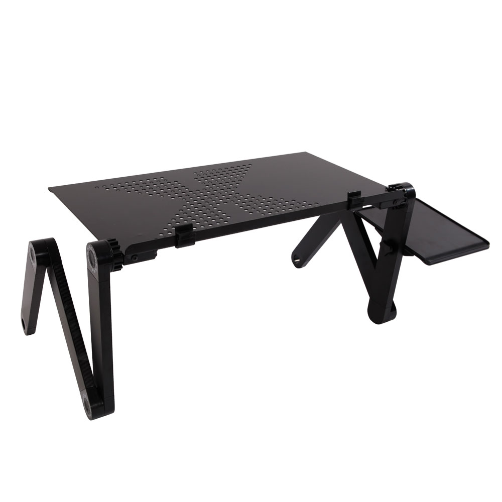 48*26cm Adjustable Folding Table For Laptop Desk Computer Portable Home Use Assembled Folding Table Computer Desk