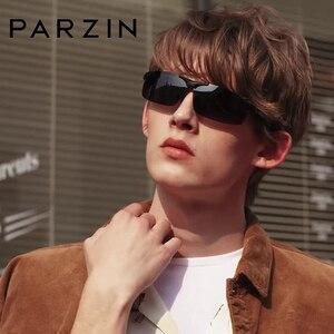 Image 1 - PARZIN Men Polarized Sunglasses for Driving Fishing Top Quality Aluminum Magnesium Sun Glasses Anti UV400 Outdoor Eyewear