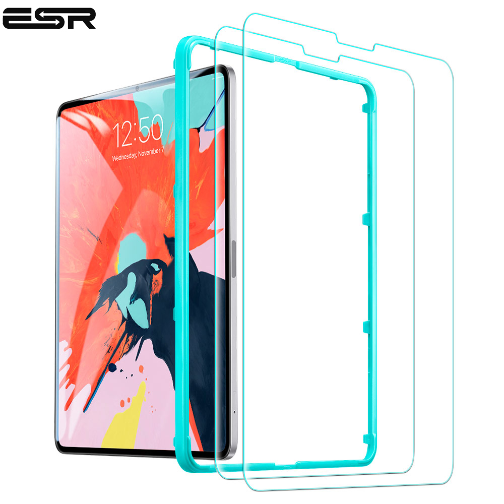 ESR Screen Protector For IPad Pro 11 2018 9H Hardness HD Clear Tempered Glass Tablet Film For The All-Screen IPad Pro 11 Inch