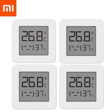 [[Phiên Bản Mới Nhất] Xiaomi Mijia Bluetooth Nhiệt Kế 2 Thông Minh Không Dây Điện Kỹ Thuật Số Nhiệt Ẩm Kế Nhiệt Kế Làm Việc Với Mijia Ứng Dụng