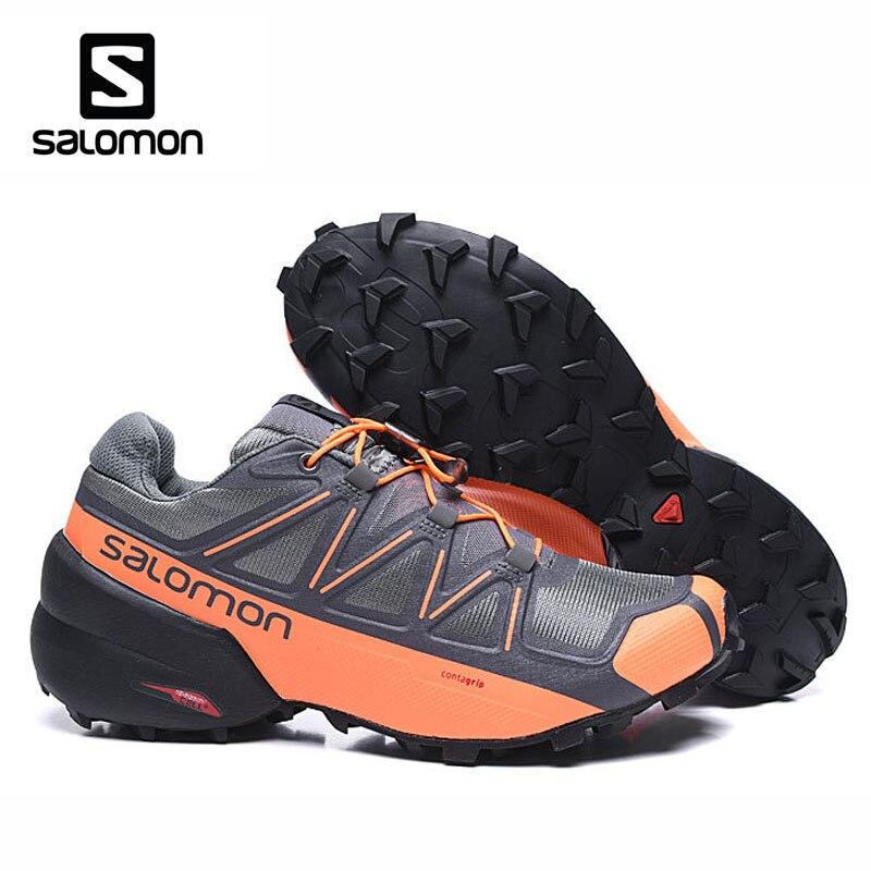 2019 New Salomon Speed Cross 5 Men Running Outdoor Sports Shoes Men Fencing Shoes Salomon Speed Cross 5 Cross-Country Men