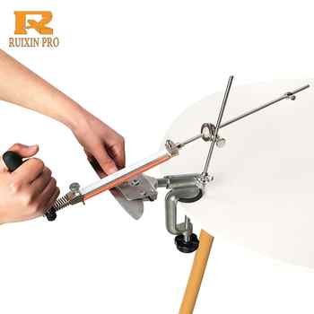 Ruixin pro In lega di Alluminio per affilare i coltelli sistema di 360 gradi di vibrazione Costante angolo di utensili di Rettifica Smerigliatrice