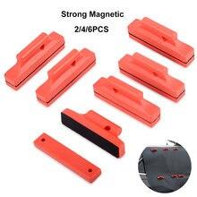 Foshio 2/4/6 шт Магнитный съемник для жестких бирок электронного