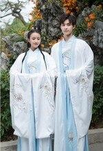 2021 estilo chinês dos homens tang terno traje antigo hanfu folk vestido emboridery longo robe espadachim traje dos homens do vintage conjuntos de hanfu