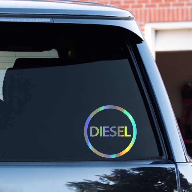車のステッカー 3D ディーゼルのみ燃料ステッカー車おかしいステッカーとデカールビニール車のスタイリング