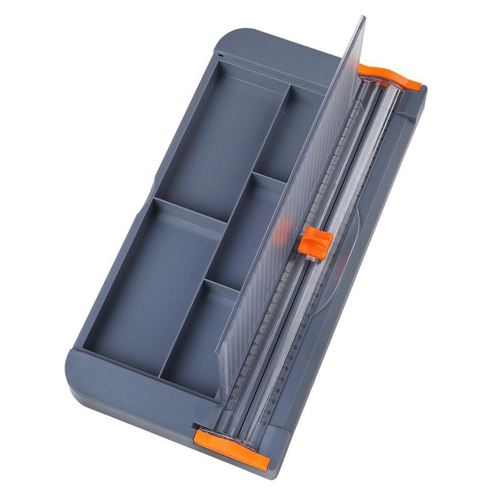 A4 Paper Trimmer Cutters Guillotine Storage Boxes Portable For A5 A6 Photo Labels Paper Cutting Stationery For School Office