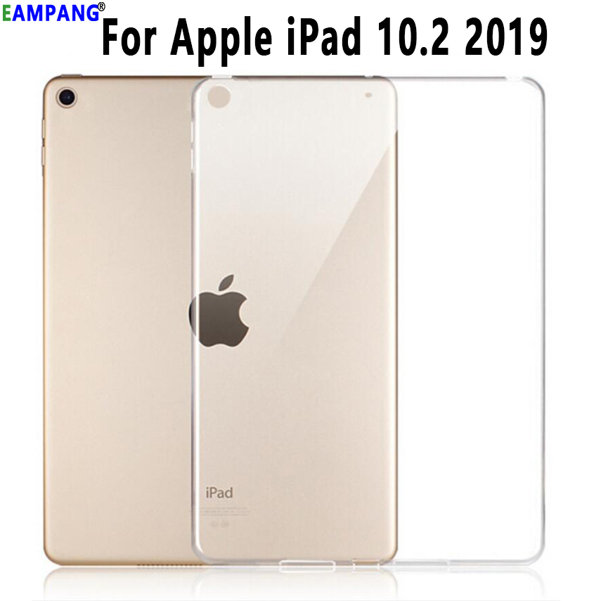 Clear Cover for Apple iPad 10 2 2019 Case A2197 A2200 A2198 A2232 Transparent Soft Silicon