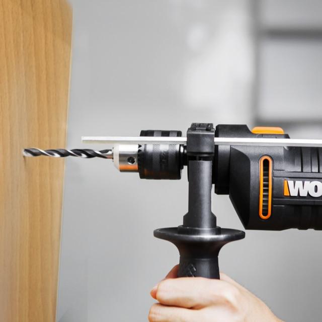 WORX 600W Impact Drill Electric Tools Screwdriver DIY WX317.2 Variable-speed Power Tools handheld 13mm keyless chuck + Tools box 5