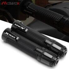 สำหรับYamaha Xmax 125 250 300 400 CNC Street & Racing Moto Racingรถจักรยานยนต์HandleและปลายHandlebar Grip xmax300