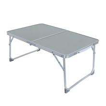 Biurko komputerowe półka do sypialni łóżka biurko duże łóżeczko składane przenośne wielofunkcyjne biurko na laptopa leniwy stolik na laptopa # C tanie tanio Montaż China Europa i ameryka Nowoczesne Rectangle Metal STAINLESS STEEL fashion