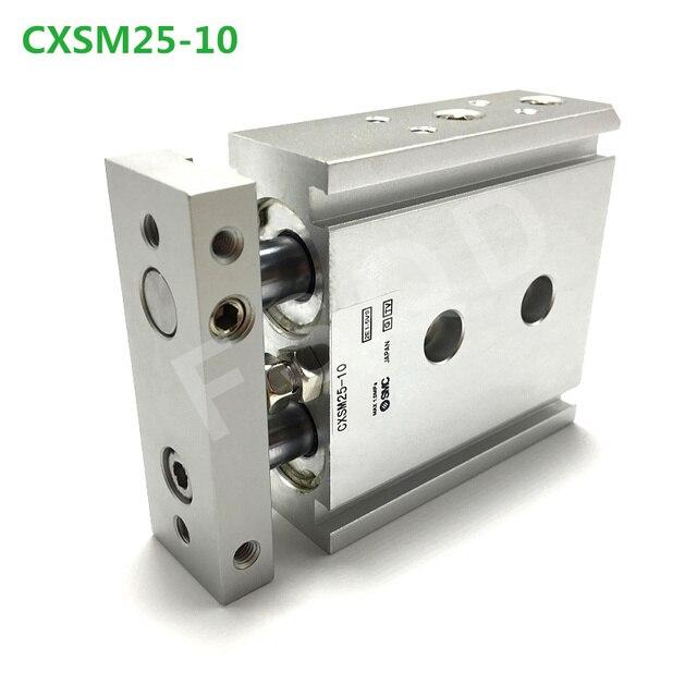 CXSM25 10,15,20,25 FSQD SMC Tipo di componente pneumatico A Doppio Stelo Cilindro di Base di aria strumenti di serie CXSM