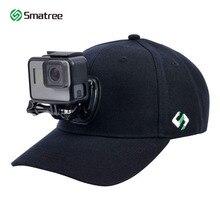 Smatree野球帽子とクイックリリースバックルマウント移動プロ 5 セッションヒーロー 8/7/6/5/4/3 + 、dji osmoアクションカメラ